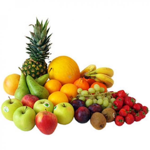 Fruit Box / Pieces Of Individual Fresh Whole / Sold Per Piece / Apples / Banana / Pear / Seasonal Fruit
